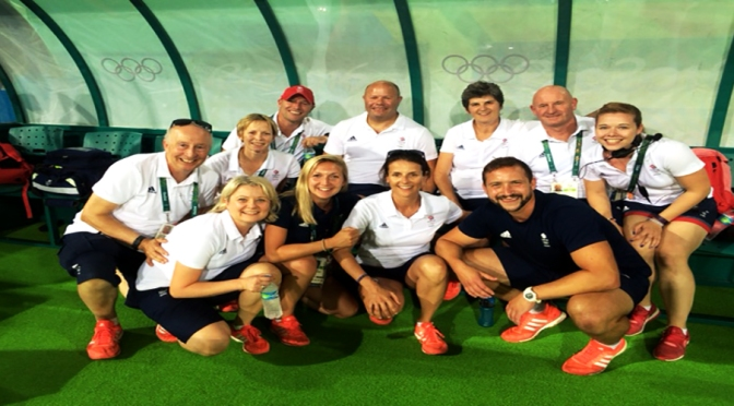 The Team behind The Team, #Olympic Champions- @_GBHockey