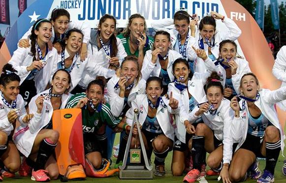 Argentina stun Netherlands to claim first Junior gold since 1993