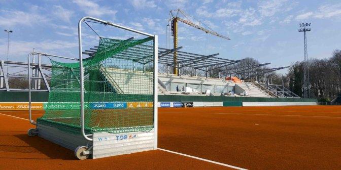 New Hockey Pitches Go Dutch, Orange Turf Unveiled At The Wagener Stadium