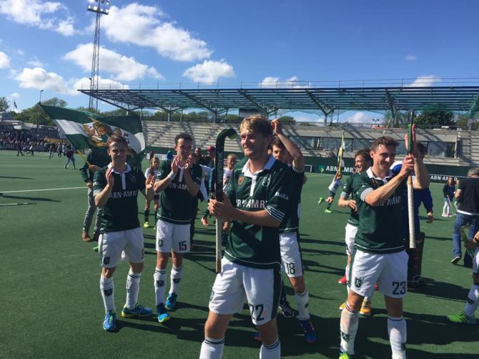 Round-up play-offs Hoofdklasse (H): Rotterdam and Kampong in final