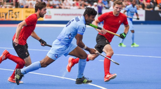India hands Canada it's first loss at World League semi final in London