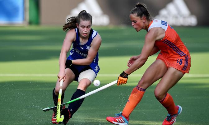 Scotland women defeated by world number one-ranked the Netherlands