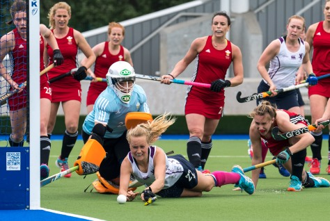 29 May 2017 at Glasgow National Hockey CentreScotland v Wales