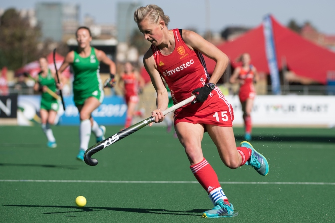England secure a 3-2 win against Ireland as Lily Owsley makes her 100th appearance