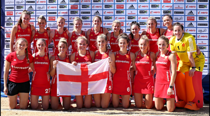 England women claim 3rd place with a 5-2 win over Argentina