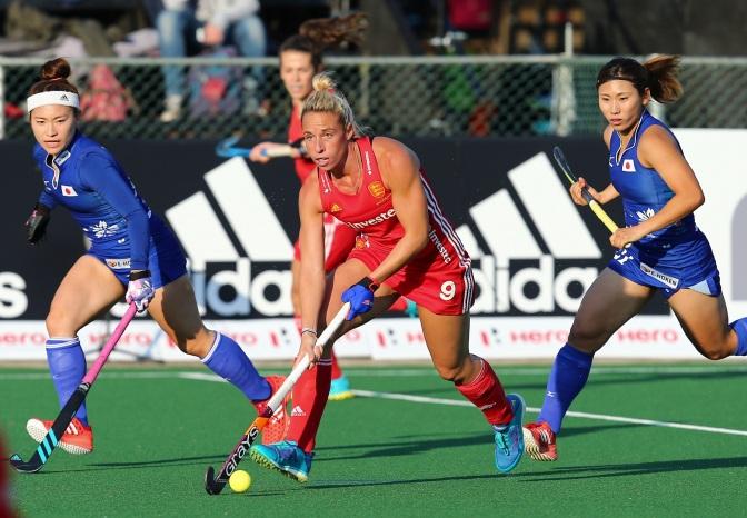 England Hockey fall short against Japan as Sarah Haycroft makes her 50th appearance