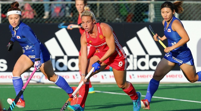 England Hockey fall short against Japan as Sarah Haycroft makes her 50th appearance