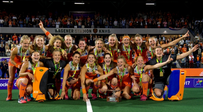 European Hockey Turns Orange Once Again