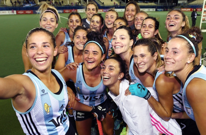 Germany and Argentina make it two wins from two at the Sentinel Homes Women's Hockey World League Final 2017