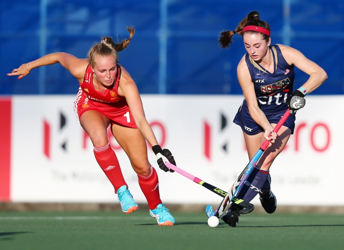 England and Netherlands win to confirm Semi-Final line-up at Sentinel Homes Women's Hockey World League Final 2017