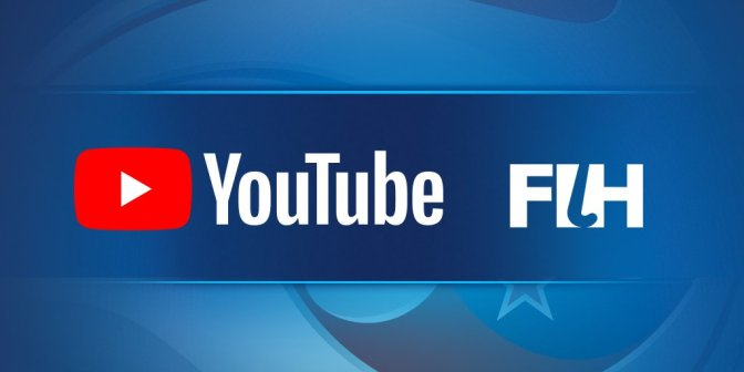 Landmark partnership as FIH sign with YouTube to broadcast Hockey World League Finals