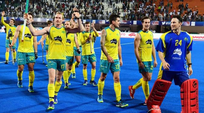 Mighty Kookaburras meet Argentina in final of Odisha Men's Hockey World League