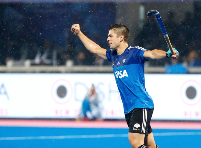 Peillat strike puts Argentina into title match at Odisha Men's Hockey World League Final Bhubaneswar 2017