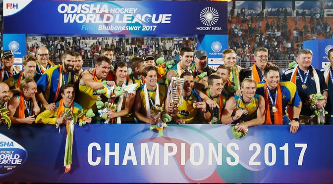 Australia's Kookaburras claim Odisha Men's Hockey World League Final Bhubaneswar 2017