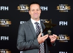 BERLIJN - FIH Hockey Stars Awards Foto: Best Umpire John Wright WORLDSPORTPICS COPYRIGHT FRANK UIJLENBROEK