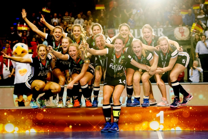 Schröder strike gives Germany title at 5th Women's Indoor Hockey World Cup 2018