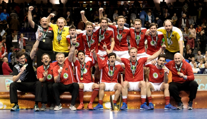 Austria win 5th Men's Indoor Hockey World Cup in drama-filled final