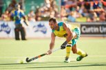PERTH, AUSTRALIA - JANUARY 27: during the International Test match between the Australian Kookaburras and Netherlands at Narrogin on January 27, 2018 in Perth, Australia. (Photo by Daniel Carson/Getty Images)
