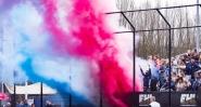 ROTTERDAM - HC Rotterdam v Manheimer HC. Supporters WORLDSPORTPICS KOEN SUYK