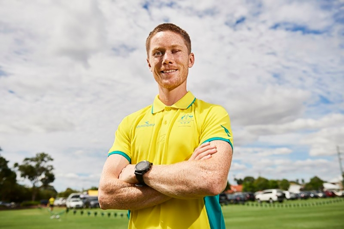"""I feared for my sight"" Kookaburras Matt Dawson speaks after a training ground accident"