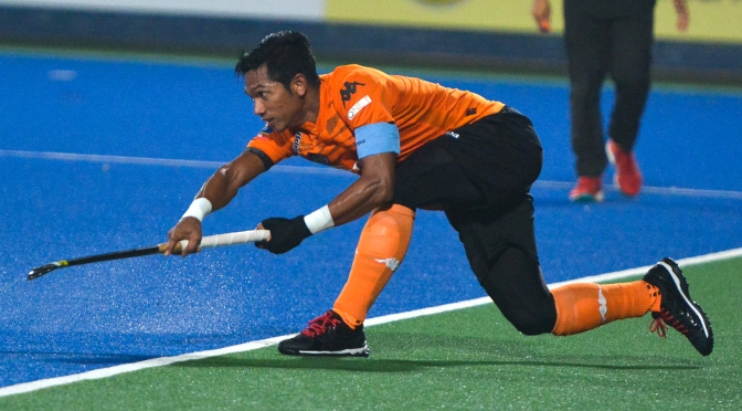 Razie's first hat trick in Azlan Shah Cup