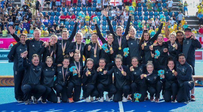 New Zeland Women Make History To Take GOLD