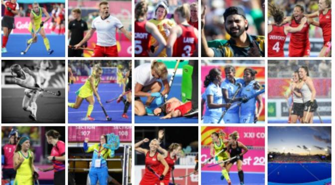 Halfway through the GC2018 Hockey