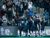 ROTTERDAM - Euro Hockey Leaque KO16 QF2 Real Club de Polo de Barcelona - Royal Herakles HC Herakles wins after shoot outs. foto: WORLDSPORTPICS COPYRIGHT FRANK UIJLENBROEK
