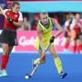 Gold Coast 2018 Commonwealth Games Hockey Centre 5/4/18 Jane Claxton Day 1 Australia v Canada Women Photo: Grant Treeby
