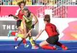 Gold Coast 2018 Commonwealth Games Hockey Centre 5/4/18 Stephanie Kershaw Day 1 Australia v Canada Women Photo: Grant Treeby