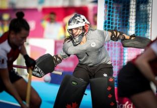 Gold Coast 2018 Commonwealth Games Hockey Centre 5/4/18 Day 1 Australia v Canada Women Photo: Grant Treeby