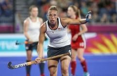 Gold Coast 2018 Commonwealth Games Hockey Centre 6/4/18 Day 2 England v Wales Women Photo: Grant Treeby