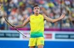 Gold Coast 2018 Commonwealth Games Hockey Centre 7/4/18 Day 3 Australia v Sth Africa Men Jake Whetton Photo: Grant Treeby