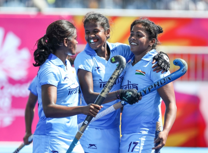 India shock England as New Zealand and Canada draw in Gold Coast 2018 Commonwealth Games women's hockey