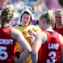 Gold Coast 2018 Commonwealth Games Hockey Centre 8/4/18 Day 4 England v India Women Maddie Hinch Photo: Grant Treeby
