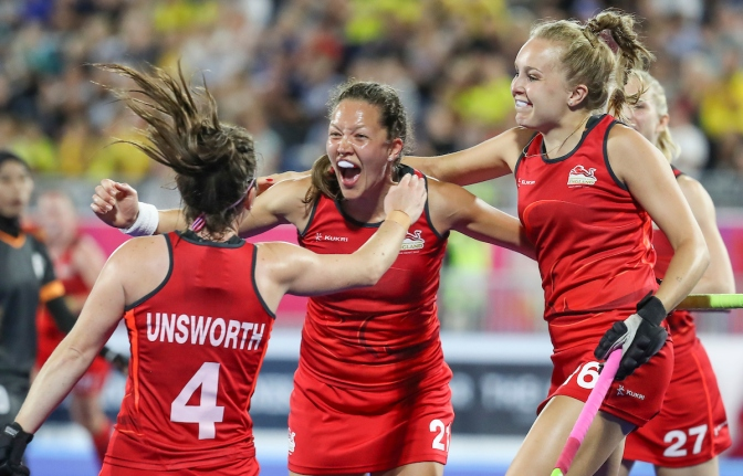 England and New Zealand qualify for women's hockey medal games at Gold Coast 2018 Commonwealth Games
