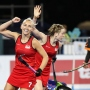 Gold Coast 2018 Commonwealth Games Hockey Centre 9/4/18 Day 5 Eng v Mal W Photo: Grant Treeby