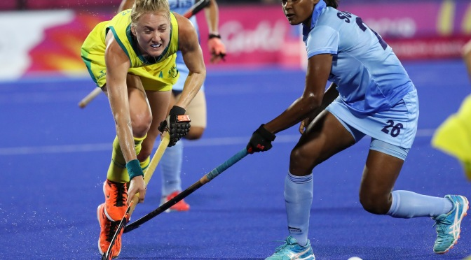 STEWART STUNNER SENDS HOCKEYROOS INTO GOLD MEDAL MATCH