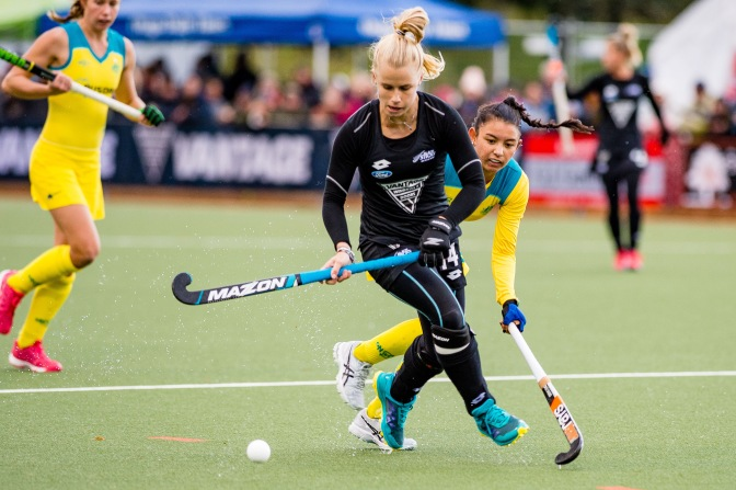 HOCKEYROOS DOMINATE BLACK STICKS TO WIN TRI NATIONS TITLE