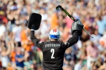 BLOEMENDAAL - EHL Finals BLOEMENDAAL v ROTTERDAM (SF2) Foto: Bloemendaal wins with 6-0 and going too the Finals. Jaap Stockmann (GK) WORLDSPORTPICS COPYRIGHT FRANK UIJLENBROEK