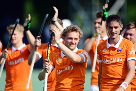 BLOEMENDAAL - EHL Finals BLOEMENDAAL v ROTTERDAM (SF2) Foto: Bloemendaal wins with 6-0 and going too the Finals. WORLDSPORTPICS COPYRIGHT FRANK UIJLENBROEK