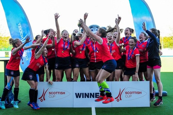 Edinburgh University at the double with women's Scottish Cup victory