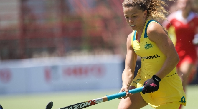 Hockeyroos pull clear with 2nd win