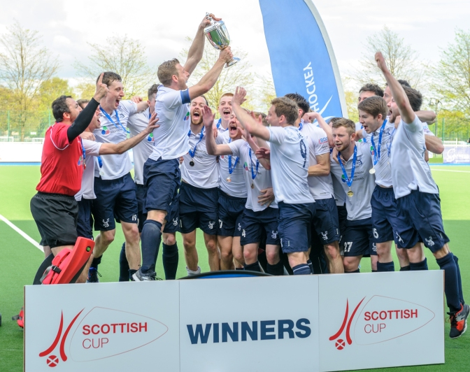 Double for Grange with Men's Scottish Cup win
