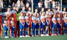 BREDA - Rabobank Hockey Champions Trophy The Netherlands - Pakistan Photo: Dutch Lineup. COPYRIGHT WORLDSPORTPICS FRANK UIJLENBROEK