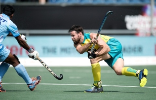 BREDA - Rabobank Hockey Champions Trophy India - Australia Photo: COPYRIGHT WORLDSPORTPICS FRANK UIJLENBROEK