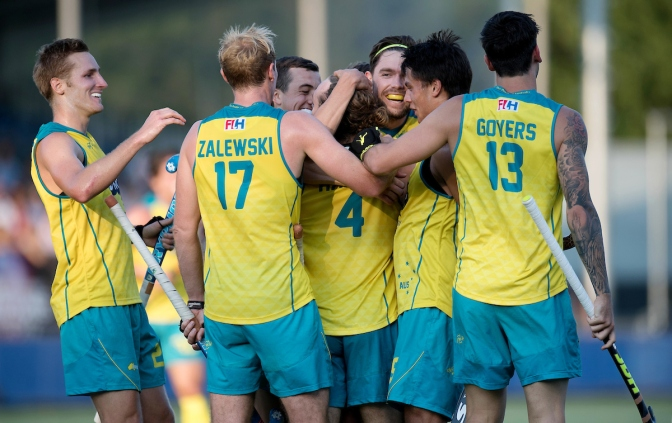 Mighty Kookaburras reach final at Men's Rabobank Hockey Champions Trophy 2018
