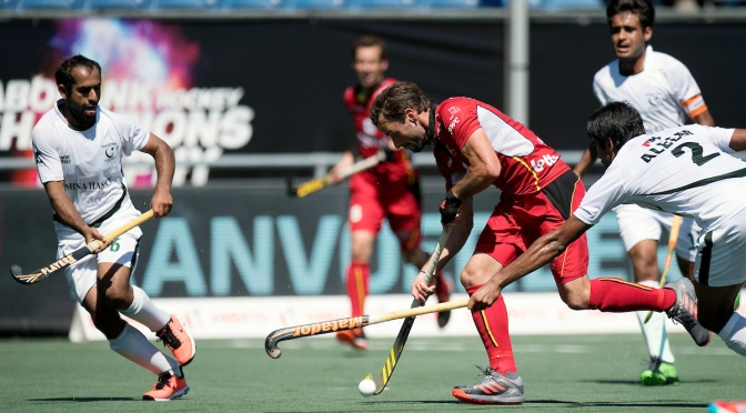 Red Lions boost hopes of medal at Men's Rabobank Hockey Champions Trophy 2018
