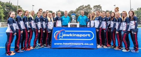 Hocey for Heroes ladies at Bisham Abbey with the hockey World Cup