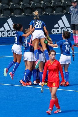 Vitality Hockey Women's World Cup 2018: Italy v China